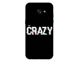 Husa Silicon Soft Upzz Print Samsung A5 2017 Model Crazy