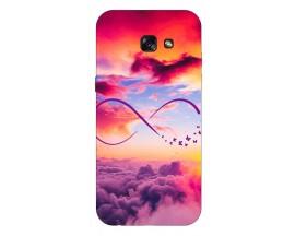 Husa Silicon Soft Upzz Print Samsung A5 2017 Model Infinity