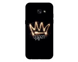 Husa Silicon Soft Upzz Print Samsung A5 2017 Model Queen
