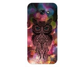 Husa Silicon Soft Upzz Print Samsung A5 2017 Model Sparkle owl