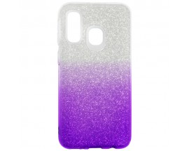 Husa Spate Upzz Shiny Lux Samsung Galaxy A30 Transparent Mov