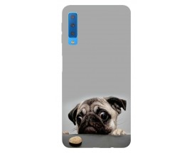 Husa Silicon Soft Upzz Print Samsung Galaxy A7 2018 Model Dog