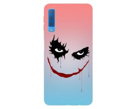 Husa Silicon Soft Upzz Print Samsung Galaxy A7 2018 Model Joker