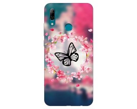 Husa Silicon Soft Upzz Print Huawei P Smart 2019 Model Butterflies