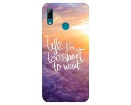 Husa Silicon Soft Upzz Print Huawei P Smart 2019 Model Life