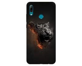 Husa Silicon Soft Upzz Print Huawei P Smart 2019 Model Tiger