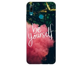 Husa Silicon Soft Upzz Print Huawei P Smart 2019 Model Be Yourself