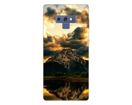 Husa Silicon Soft Upzz Print Samsung Galaxy Note 9 Model Apus