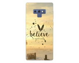 Husa Silicon Soft Upzz Print Samsung Galaxy Note 9 Model Belive