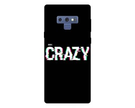 Husa Silicon Soft Upzz Print Samsung Galaxy Note 9 Model Crazy