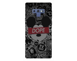 Husa Silicon Soft Upzz Print Samsung Galaxy Note 9 Model Dope