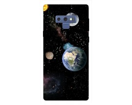 Husa Silicon Soft Upzz Print Samsung Galaxy Note 9 Model Earth