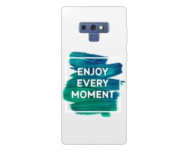 Husa Silicon Soft Upzz Print Samsung Galaxy Note 9 Model Enjoy