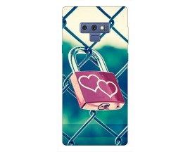 Husa Silicon Soft Upzz Print Samsung Galaxy Note 9 Model Heart Lock