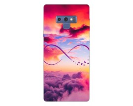 Husa Silicon Soft Upzz Print Samsung Galaxy Note 9 Model Infinity