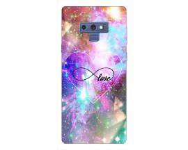 Husa Silicon Soft Upzz Print Samsung Galaxy Note 9 Model Neon Love