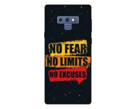 Husa Silicon Soft Upzz Print Samsung Galaxy Note 9 Model No Fear