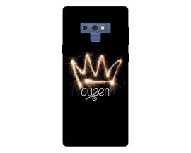 Husa Silicon Soft Upzz Print Samsung Galaxy Note 9 Model Queen