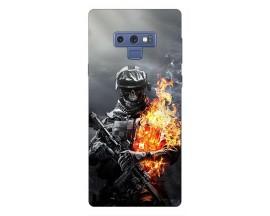 Husa Silicon Soft Upzz Print Samsung Galaxy Note 9 Model Solider