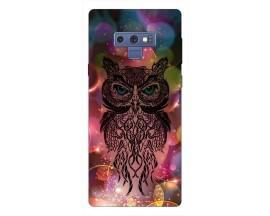 Husa Silicon Soft Upzz Print Samsung Galaxy Note 9 Model Sparkle Owl