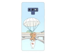 Husa Silicon Soft Upzz Print Samsung Galaxy Note 9 Model Three Bears