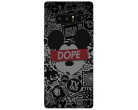 Husa Silicon Soft Upzz Print Samsung Galaxy Note 8 Model Dope