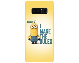 Husa Silicon Soft Upzz Print Samsung Galaxy Note 8 Model Kevin
