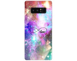 Husa Silicon Soft Upzz Print Samsung Galaxy Note 8 Model Love
