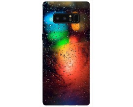 Husa Silicon Soft Upzz Print Samsung Galaxy Note 8 Model Multicolor