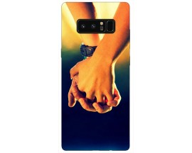 Husa Silicon Soft Upzz Print Samsung Galaxy Note 8 Model Together