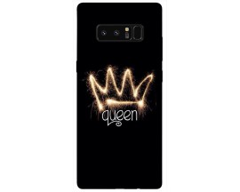 Husa Silicon Soft Upzz Print Samsung Galaxy Note 8 Model Queen