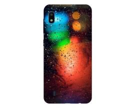 Husa Silicon Soft Upzz Print Samsung Galaxy A10 Model Multicolor