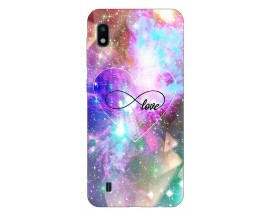 Husa Silicon Soft Upzz Print Samsung Galaxy A10 Model Neon Love