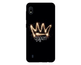 Husa Silicon Soft Upzz Print Samsung Galaxy A10 Model Queen