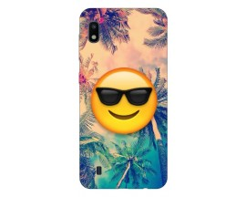 Husa Silicon Soft Upzz Print Samsung Galaxy A10 Model Smile