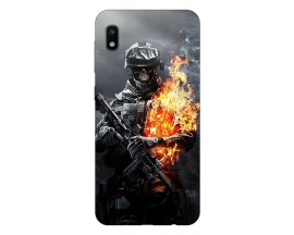 Husa Silicon Soft Upzz Print Samsung Galaxy A10 Model Solider