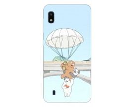 Husa Silicon Soft Upzz Print Samsung Galaxy A10 Model Three Bears