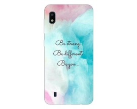Husa Silicon Soft Upzz Print Samsung Galaxy A10 Model Be You