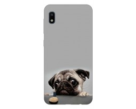 Husa Silicon Soft Upzz Print Samsung Galaxy A10 Model Dog