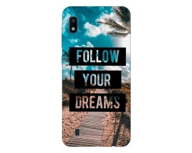 Husa Silicon Soft Upzz Print Samsung Galaxy A10 Model Dreams