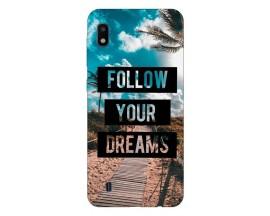 Husa Silicon Soft Upzz Print Samsung Galaxy A10 Model Dreams