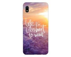 Husa Silicon Soft Upzz Print Samsung Galaxy A10 Model Keep Life