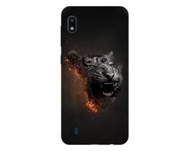 Husa Silicon Soft Upzz Print Samsung Galaxy A10 Model Tiger
