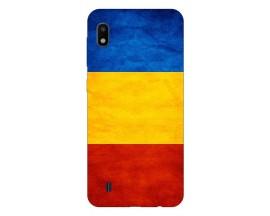 Husa Silicon Soft Upzz Print Samsung Galaxy A10 Model Tricolor