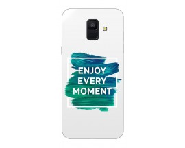 Husa Silicon Soft Upzz Print Samsung A6 2018 Model Enjoy
