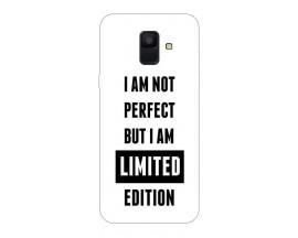 Husa Silicon Soft Upzz Print Samsung A6 2018 Model Limited Edition