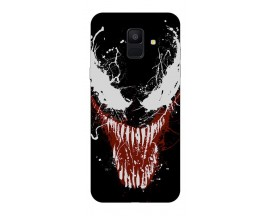 Husa Silicon Soft Upzz Print Samsung A6 2018 Model Monster