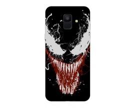 Husa Silicon Soft Upzz Print Samsung A6 2018 Model Monster