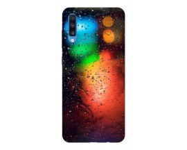 Husa Silicon Soft Upzz Print Samsung A70 Model Multicolor
