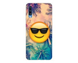 Husa Silicon Soft Upzz Print Samsung A70 Model Smile